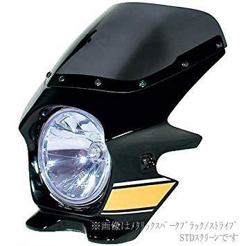 N PROJECT 91204 BLUSTERII ZEPHY1100 メタリックスパークブラック ( エアロ )【smtb-s】