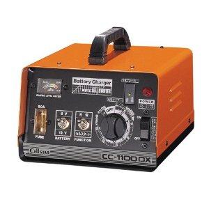 セルスター工業 バッテリー充電器 (タイマー・セルスタート付) 6V/12V専用 10A (CC-1100DX)【smtb-s】