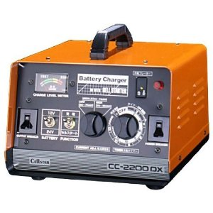 セルスター工業 バッテリー充電器 (タイマー・セルスタート付) 12V/24V専用 12A (CC-2200DX)【smtb-s】
