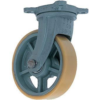 UHBG200X75ヨドノ 鋳物重荷重用ウレタン車輪自在車付き UHBーg200X758353216【smtb-s】