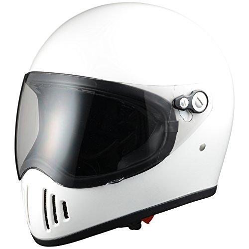 シレックス 【必ず購入前に仕様をご確認下さい】RAIZIN フルフェイスヘルメット P/WH L (ZS728-PWL)【smtb-s】