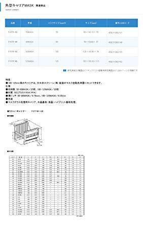 ミライアル 角型キャリアMASK 125MASK7-177-16【smtb-s】