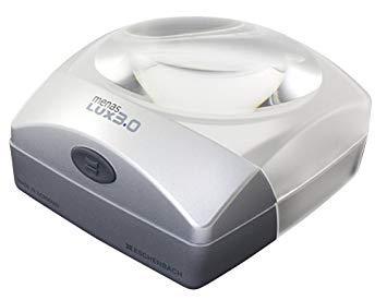 エッシェンバッハ 143830メナスLUX menas LUX「メナス・ルクス」LEDライト付デスクトップルーペ60mm径/3倍 1438-30【smtb-s】