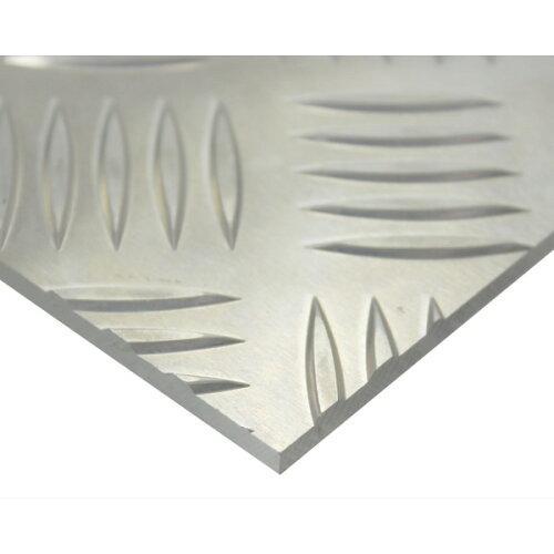 ハイロジック アルミ縞板(52S) 1000mm×1000mm 厚さ3mm【smtb-s】