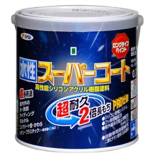 アサヒペン 水性スーパーコート0.7L白【入数:6】【smtb-s】