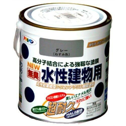 アサヒペン 水性建物用0.7Lグレー(ねずみ色)【入数:6】【smtb-s】