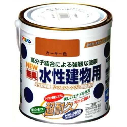 アサヒペン 水性建物用0.7Lカーキー色【入数:6】【smtb-s】