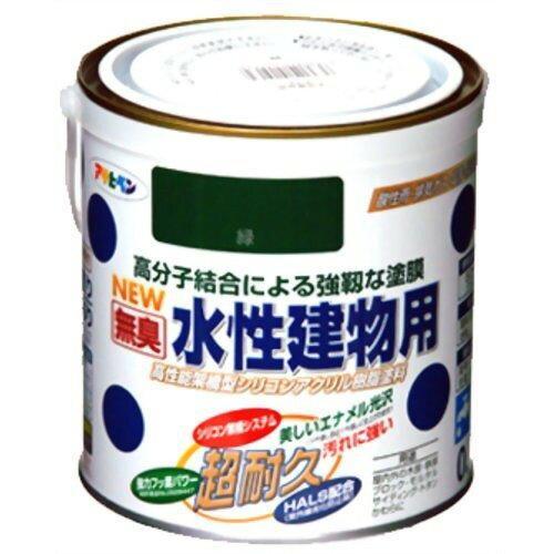 アサヒペン 水性建物用0.7L緑【入数:6】【smtb-s】