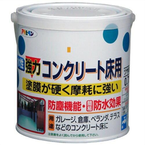 アサヒペン 水性コンクリート床用0.7Lライトグリーン【入数:6】【smtb-s】