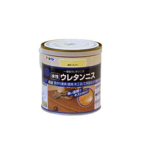アサヒペン 水性ウレタンニス0.7L透明(クリヤ)【入数:6】【smtb-s】