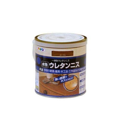アサヒペン 水性ウレタンニス0.7Lメープル【入数:6】【smtb-s】