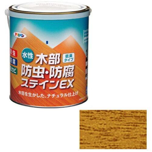 アサヒペン 水性木部防虫・防腐ステインEX1.6Lパイン【入数:6】【smtb-s】