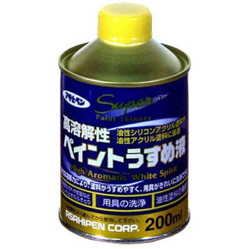 アサヒペン 高溶解性ペイントうすめ液200ML【入数:24】【smtb-s】