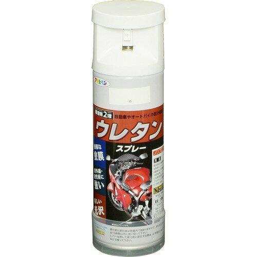アサヒペン 2液ウレタンスプレー300ML白【入数:6】【smtb-s】