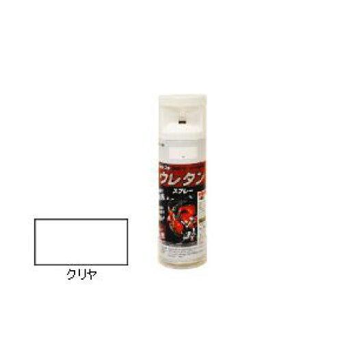 アサヒペン 2液ウレタンスプレー300MLクリヤ【入数:6】【smtb-s】