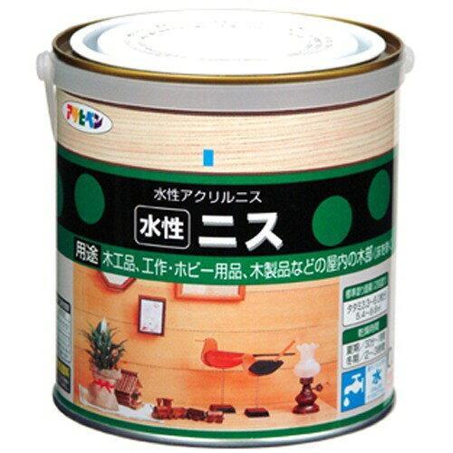 アサヒペン 水性ニス0.7L透明(クリヤ)【入数:6】【smtb-s】