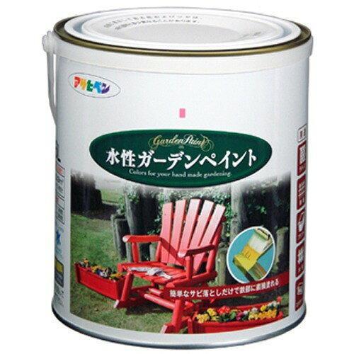 アサヒペン 水性ガーデンペイント1.6Lパールグレー【入数:6】【smtb-s】