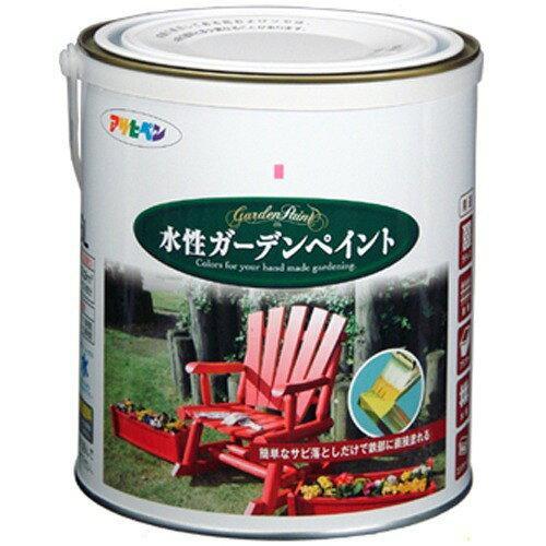 アサヒペン 水性ガーデンペイント1.6Lカナリーイエロー【入数:6】【smtb-s】