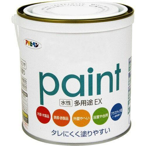 アサヒペン 水性多用途EX1.6Lミルキーホワイト【入数:6】【smtb-s】