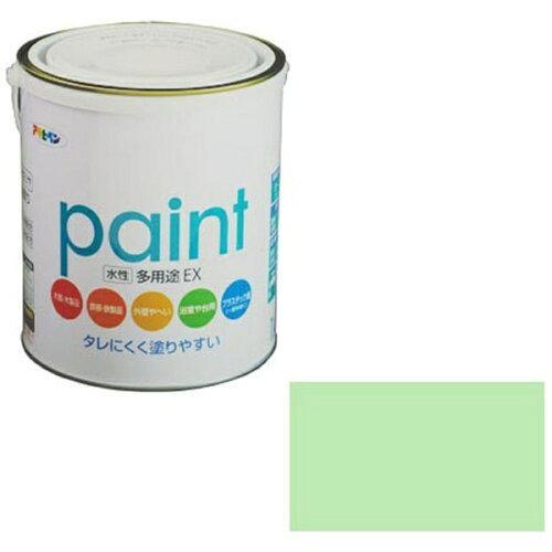 アサヒペン 水性多用途EX1.6Lパステルグリーン【入数:6】【smtb-s】