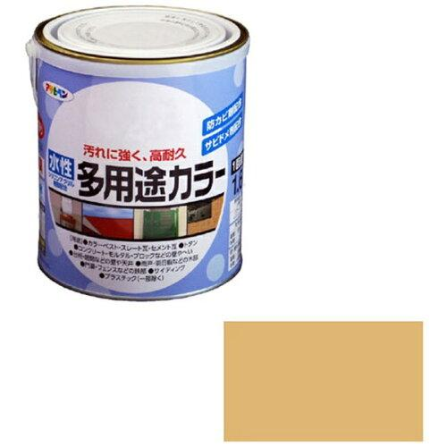 アサヒペン 水性多用途カラー1.6Lシトラスイエロー【入数:6】【smtb-s】