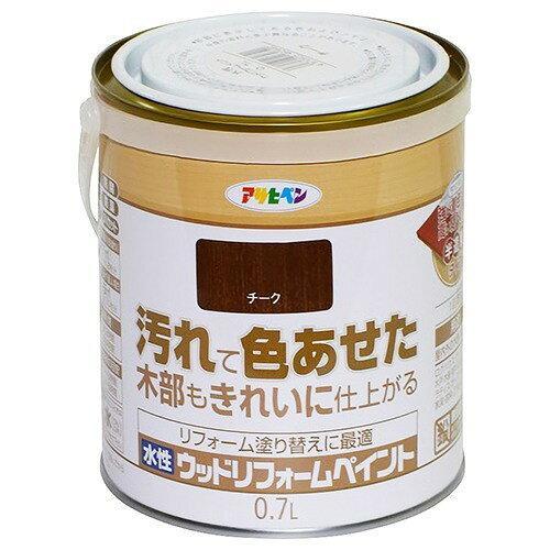 アサヒペン 水性ウッドリフォームペイント0.7Lチーク【入数:6】【smtb-s】