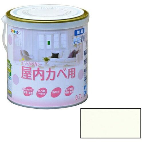 アサヒペン NEW水性インテリアカラー屋内カベ0.7Lホワイトグリーン【入数:6】【smtb-s】