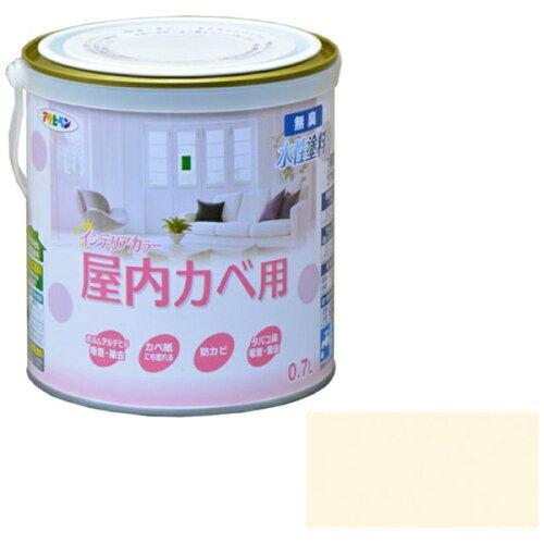 アサヒペン NEW水性インテリアカラー屋内カベ0.7Lライトベージュ【入数:6】【smtb-s】