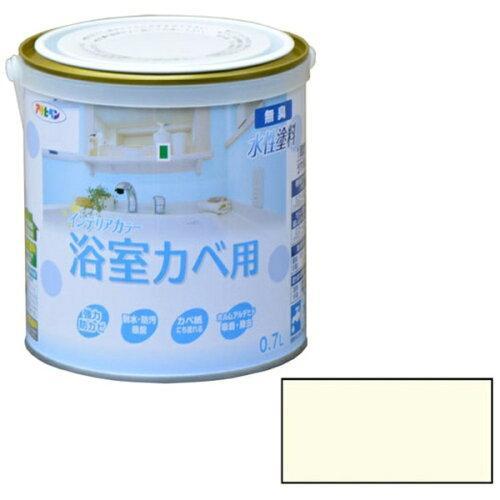 アサヒペン NEW水性インテリアカラー浴室カベ0.7Lアイボリー【入数:6】【smtb-s】