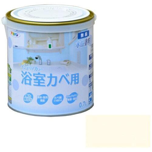 アサヒペン NEW水性インテリアカラー浴室カベ0.7Lペールクリーム【入数:6】【smtb-s】