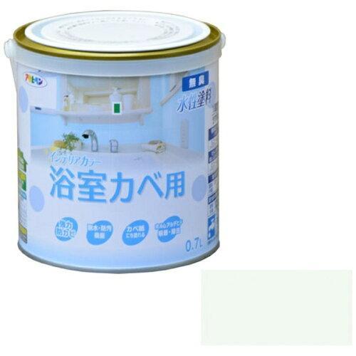 アサヒペン NEW水性インテリアカラー浴室カベ0.7Lペールグリーン【入数:6】【smtb-s】