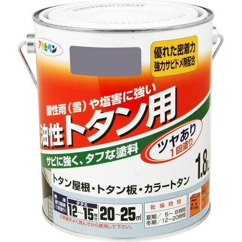 トタン用1.8L銀【入数:6】【smtb-s】 アサヒペン