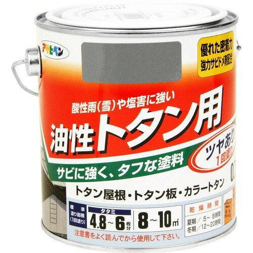 アサヒペン トタン用0.7Lグレー(ねずみ色)【入数:6】【smtb-s】