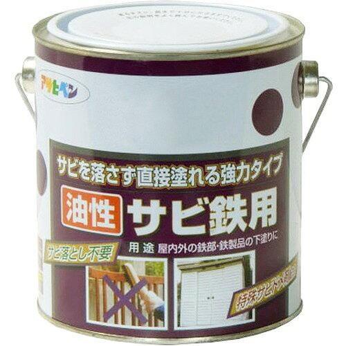 アサヒペン 油性サビ鉄用1.8Lグレー(ねずみ色)【入数:6】【smtb-s】