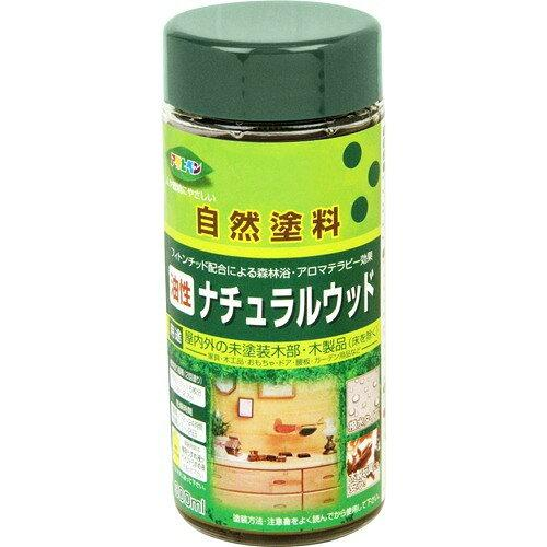 アサヒペン 油性ナチュラルウッド300ML透明(クリヤ)【入数:6】【smtb-s】