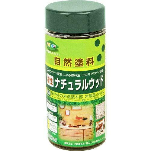 アサヒペン 油性ナチュラルウッド300MLウォルナット【入数:6】【smtb-s】
