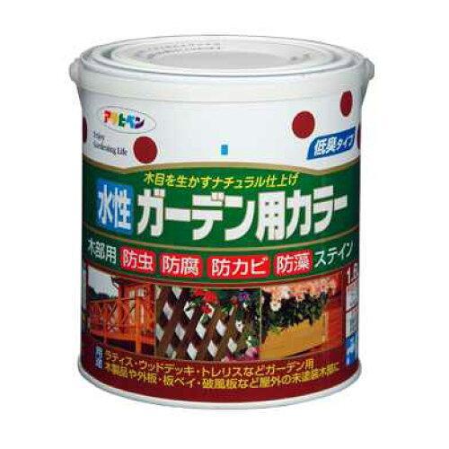 アサヒペン 水性ガーデン用カラー1.6Lダークオーク【入数:6】【smtb-s】