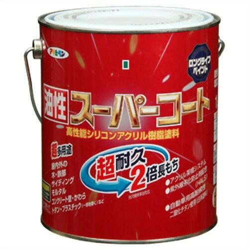 アサヒペン 油性スーパーコート1.6L若草色【入数:6】【smtb-s】