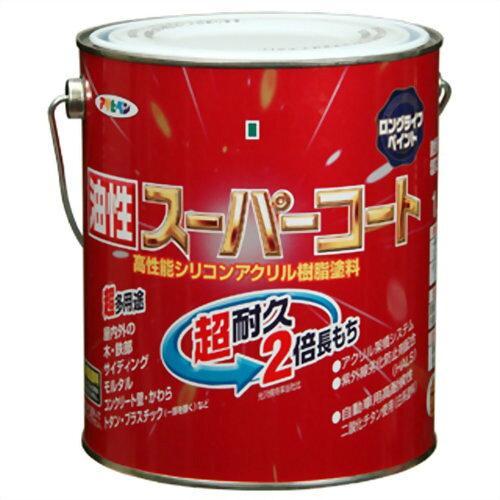 アサヒペン 油性スーパーコート1.6Lアイリッシュグリーン【入数:6】【smtb-s】