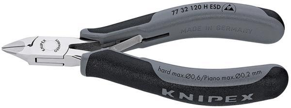 クニペックス 7732-120HESD 超硬刃エレクトロニクスニッパー 7732120HESD【smtb-s】