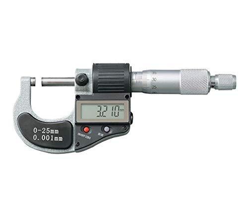 アズワン(As One) デジタルマイクロメーター(測定範囲0~25mm)4-575-01【smtb-s】