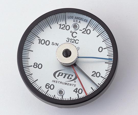 イチネンTASCO バイメタル表面温度計 低温・高温各表示針付きTMS50N-1201-9897-03【smtb-s】