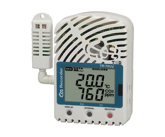 ティアンドデイ CO2濃度・温度・湿度データロガーTR-76Ui61-8493-83【smtb-s】