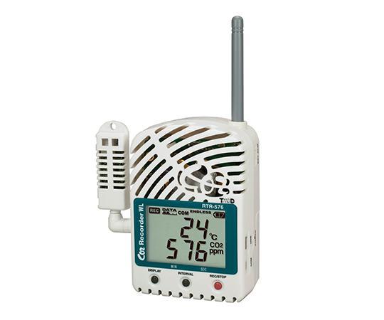 ティアンドデイ おんどとり ワイヤレスデータロガー CO2・温度・湿度データロガーRTR-57662-2699-12【smtb-s】