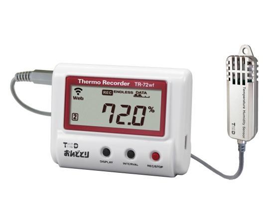温度湿度データロガー(有線LANタイプ)TR-72NW-S62-5001-30【smtb-s】 ティアンドデイ