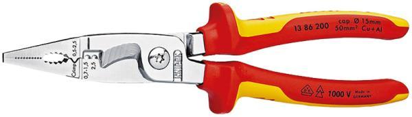クニペックス KNIPEX KNIPEX(クニペックス)  1386-200 絶縁エレクトロプライヤー (SB)【smtb-s】