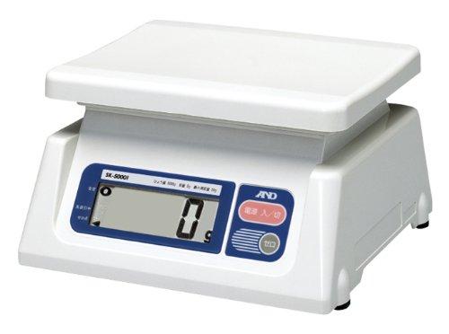 A&D A&D デジタルスケール(特定計量器・検定付) SK-5000i【smtb-s】
