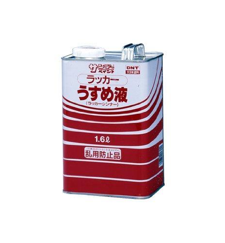 送料無料 ブランド買うならブランドオフ サンデーペイント 返品送料無料 サンデー #20136 1600ml ラッカーうすめ液