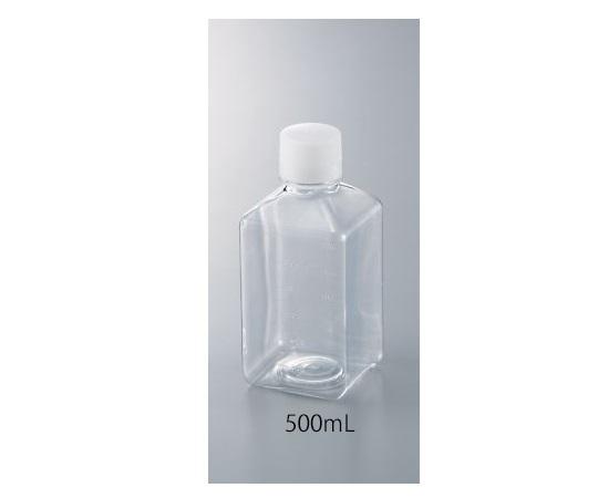 アズワン(As One) 角型培地瓶 500mL 12本入 GPE5004-551-02【smtb-s】