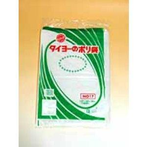 中川製袋化工(Nakagawaseitai) ポリ規格袋17 360×500(0.03)2000枚【smtb-s】